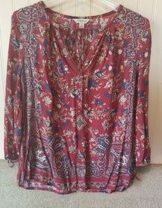 Lucky Brand woman's blouse size Small